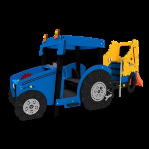 Tracteur avec chariot à foin Blue BBIE503.KP