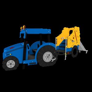 Tracteur avec chariot à foin Blue BBIE503.KR