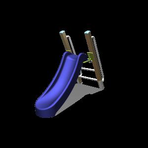 Freistehende Rutsche mit Griff H1.0 BBPE020.1GP