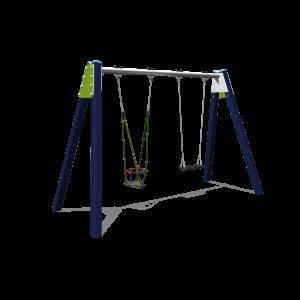 Double balançoire avec 1 siège gam H2.12 BBPE030.4A