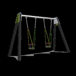 Double balançoire avec 2 siège gam BBPE030.5K