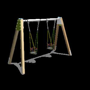 Dubbele schommel Anti-wrap H2.12 BBP.031.0G