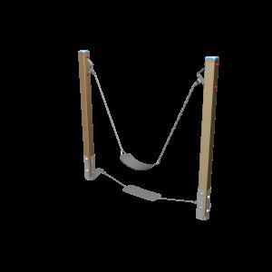 Balançoire pour gamins H1.43 BBPE031.1G