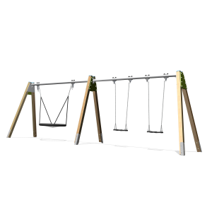Multi balançoire nid 100cm H2.08 BBPE031.5G