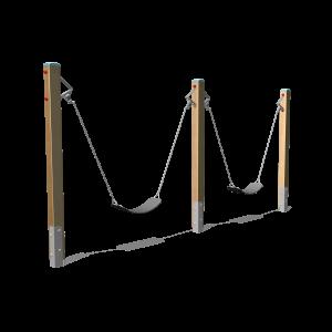Dubbele peuterschommel H1.43 BBP.031.7G
