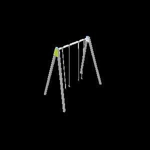 Double balançoire géant H4.21 BBPE038.4R