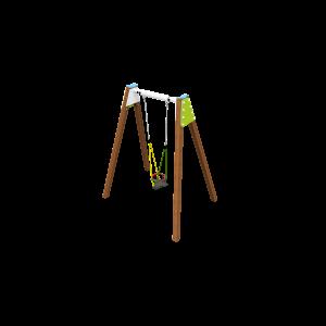 Solo balançoire Anti-wrap H2.45 BBPE039.4H