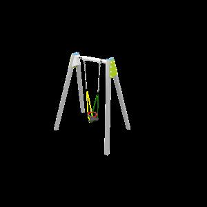 Solo balançoire Anti-wrap H2.48 BBPE039.4R