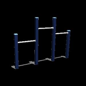 Turn-Reck trio H1.45-1.20-1.00 BBPE040.4A