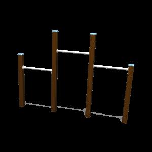 Turn-Reck trio H1.45-1.20-1.00 BBPE040.4H