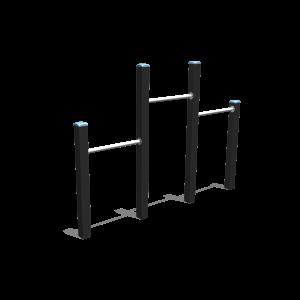 Duikel trio H1.00-1.45-1.20 BBP.040.4K