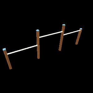 Duikel trio H1.00-1.45-1.20 BBP.040.6H