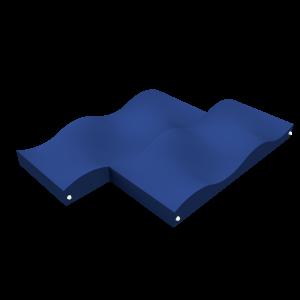 Wildwaterpad dubbel BBP.046.4K