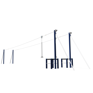 Kabelbaan Dubbel Flyer 20m BBP.055.2A