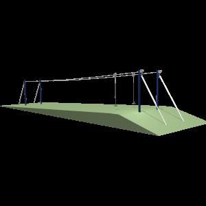 Kabelbaan Dubbel Flyer Talud BBP.055.4A