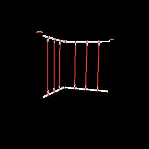 Climbing ropes vertical BBPE072.1B