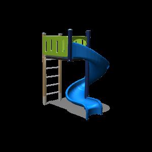 Kletterturm Spiralrutsche BBPE111.3GP