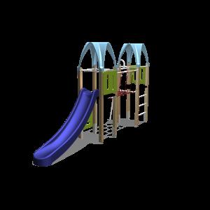Kletteranlage 2 Turme / 2 Dächer BBPE210.2GP