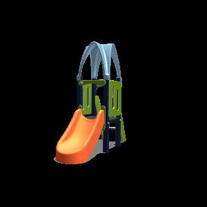 Kletteranlage 1 Turm / 1 Dach BPKE160.3AP