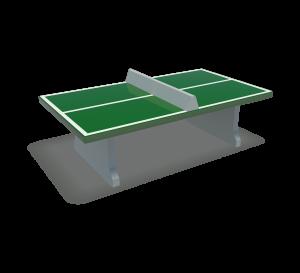 Tafeltennistafel Beton Groen DRD.HB.001
