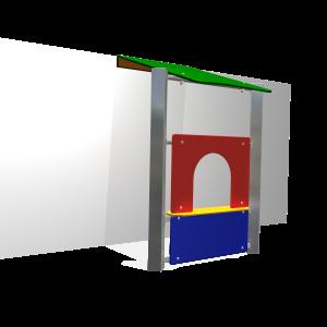 Ladenwand DRME025.155
