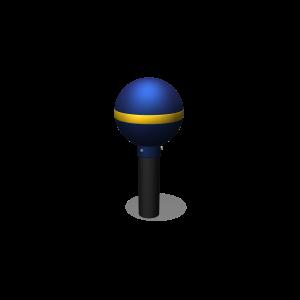 leapfrog post blue JGPE407.502