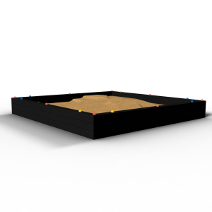 Zandbak Rebo 2.5x2.5x0.4 255.252.540