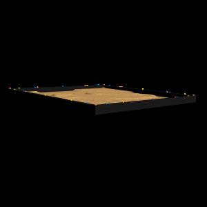 Zandbak Rebo 4.0x4.0x0.3 255.404.030