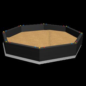 Sandpit octagular 3m 3.0x3.0x0.4 MNPE255.001