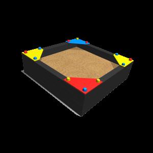 Sandpit 1.5 x 1.5 x 0.5 1.5x1.5x0.5 MNPE255.027