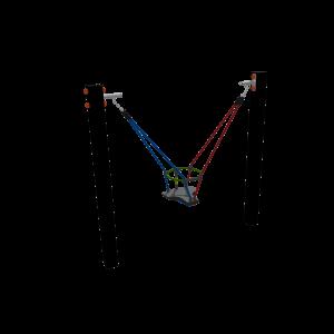 Multi balançoire avec siège petit-enfant MNPE323.636