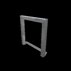 Fietsleunbeugel 4kant PKN.040.051