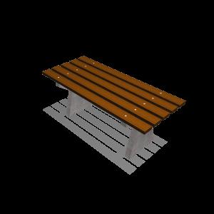 Basic II tafel beton/hout PKN.040.061