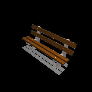 Basic III parkbank beton/hout PKN.040.063
