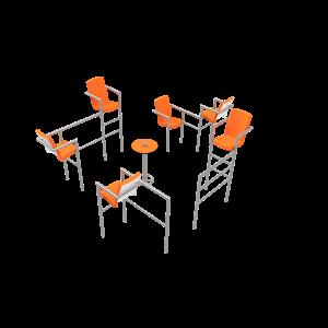 Chairish LED - 6 stoelen PKN.047.11P