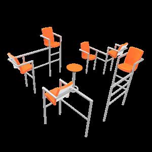 Chairish zonder led -6 stoelen PKN.048.11P
