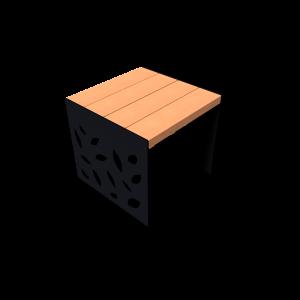 BOERgrafique Bench leaves PKNE052.110