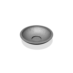 Bloembak MIRANDA 78 Antraciet ⌀ 0,8 x 0,2 m PKN.107.724