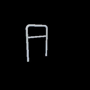 Fietsaanleunbeugel 60cm RVS PKN.FAD.006.R