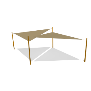 Schaduwdoek compl. toestel PKN.ROB.001