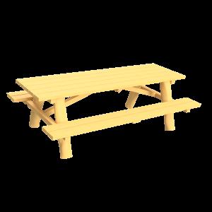 Picknickset vrijstaand PKN.ROB.215