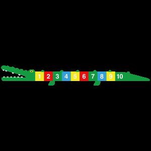 Pleinplakker Krokodil PLP.873