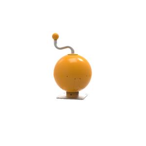 Music ball geel/oranje (incl Betonpoer) PNR.000.004