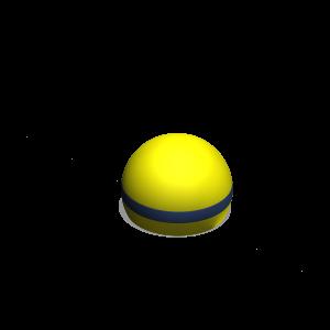 Zitbol geel PNR.000.005