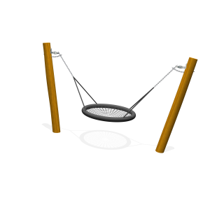 Peuterschommel met nest 100cm H1.5 PST.000.035