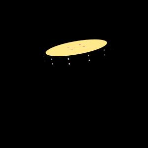 Drehteller Schräg 46cm PSTE000.041