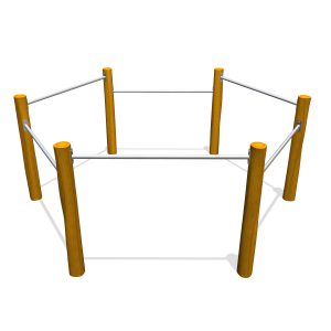 Duikel hexagon PST.000.084