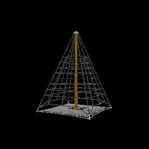 Climbing pyramid net 3m PSTE000.114