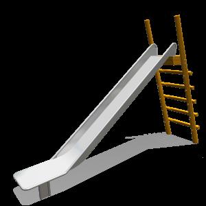 Rutsche freistehend 1.8-1.95m 1,80-1,95m PSTE000.233