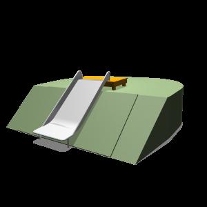 Hangrutsche (breit) 1.27cm PSTE000.262